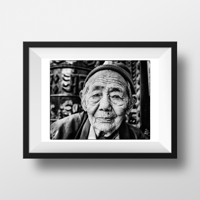 Népal Voyage Noir et Blanc