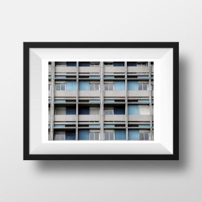Hôpital Couleur France Horizontale urbain